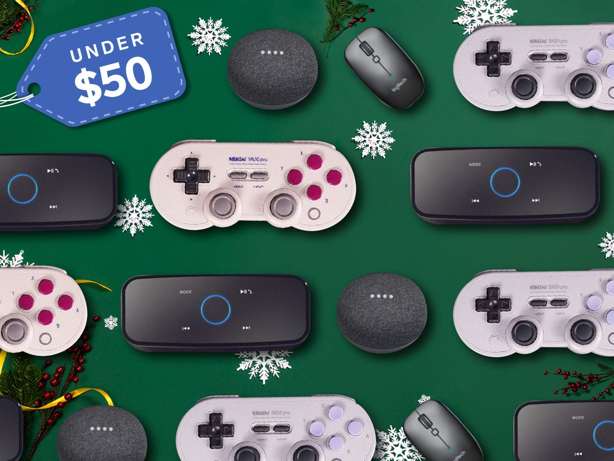 Best Tech Gifts Under $50 4x3