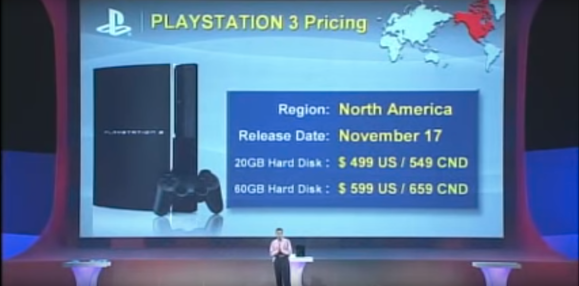 PlayStation 3 price announcement