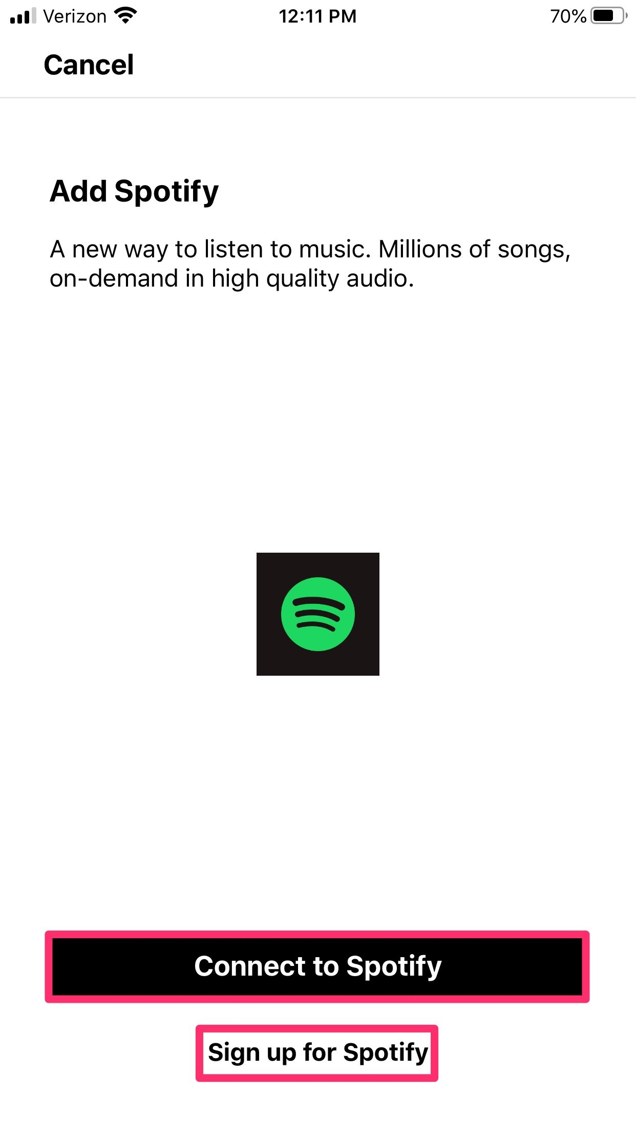 How to add Spotify to Sonos 5